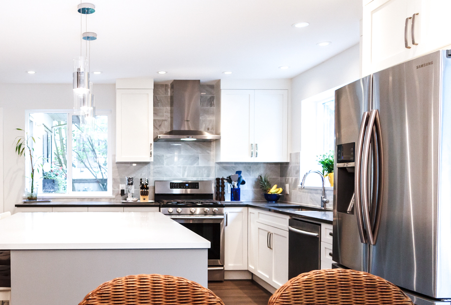 kitchen renovation - canadian home renovations metro vancouver